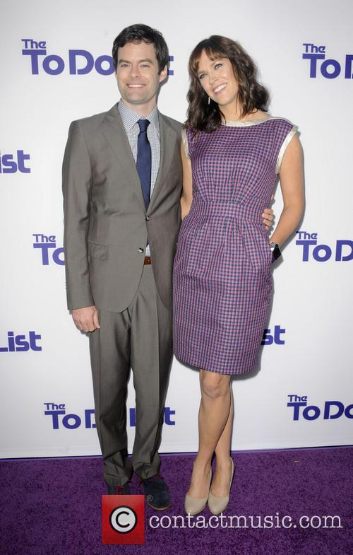 Bill Hader and Maggie Carey 1