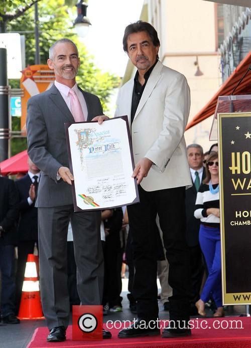 Councilmember Mitch O'farrell and Joe Mantegna 5