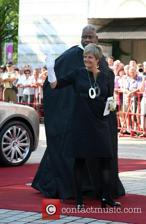Gloria Von Thurn Und Taxis and Andre Leon Talley