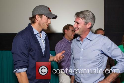 Ashton Kutcher and Mike Mccue