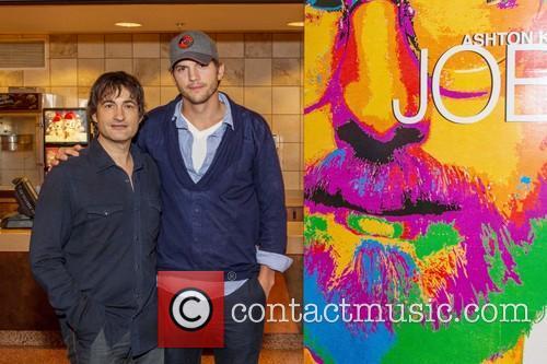 Joshua Michael Stern and Ashton Kutcher 2