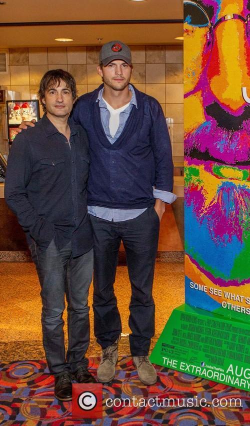 Ashton Kutcher and Joshua Michael Stern 6