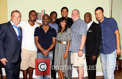 Des Mcanuff, Anthony Gaskins, K. Todd Freeman, Jeremy Tardy, Ray Fisher, Nikki M. James, Richard Masur, John Earl Jelks and Will Power 1