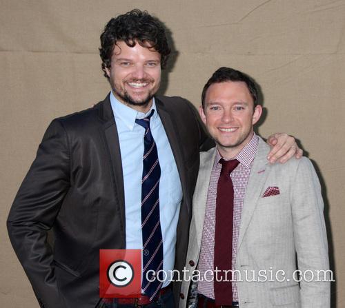 Matt Jones and Nate Corddry