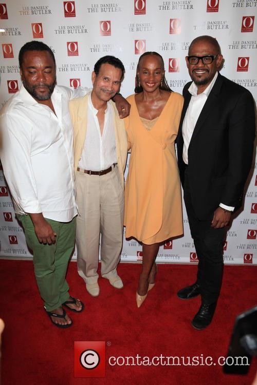Lee Daniels, Khephra Burns, Susan L Taylor and Forest Whitaker