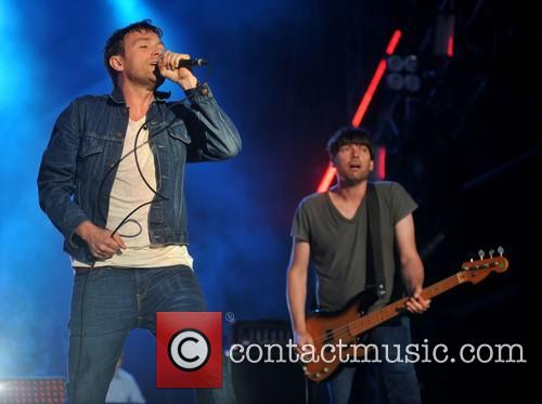 Damon Albarn, Alex James and Blur 6