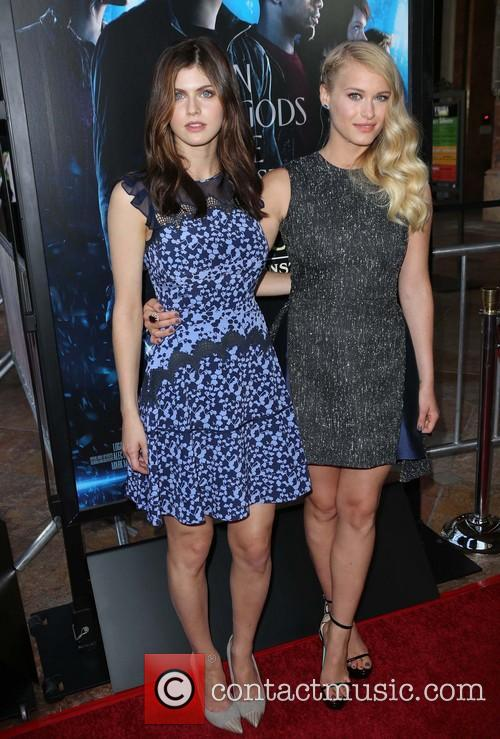 Alexandra Daddario and Leven Rambin 4