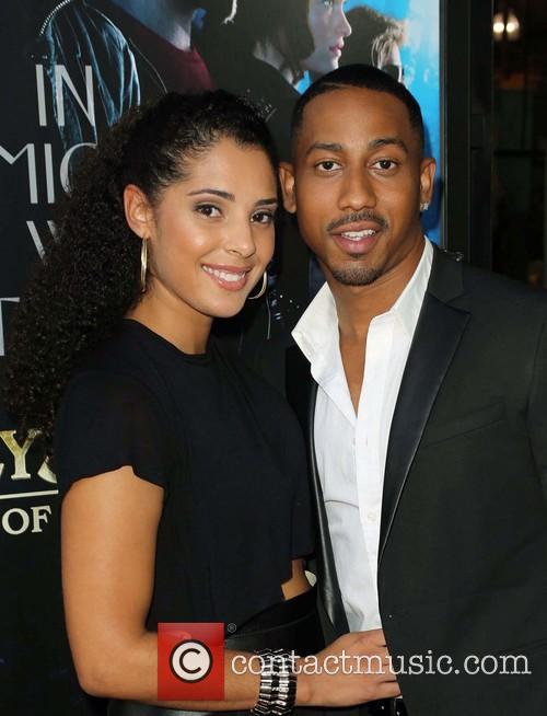 Denise Marie Xavier and Brandon T. Jackson