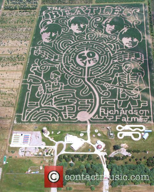 The Beatles and Corn Maze