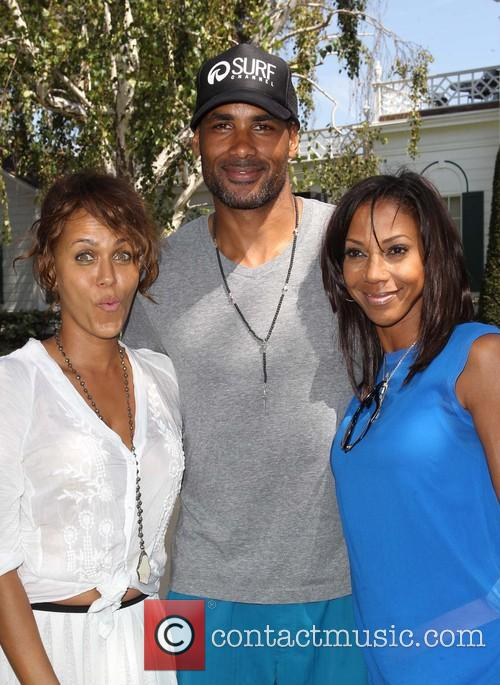 Nicole Ari Parker, Boris Kodjoe and Holly Robinson Peete 1