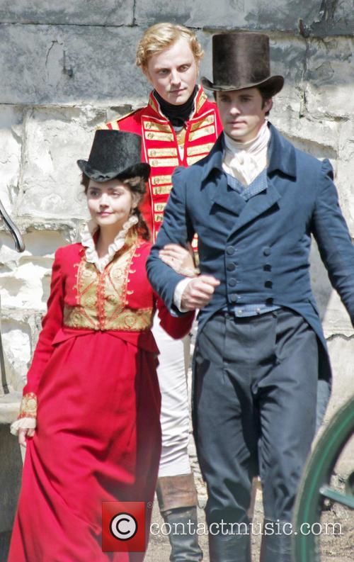 Jenna Louise Coleman and Matthew Goode 2