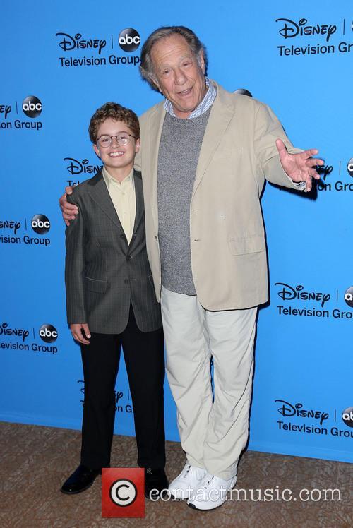 Sean Giambrone and George Segal 4