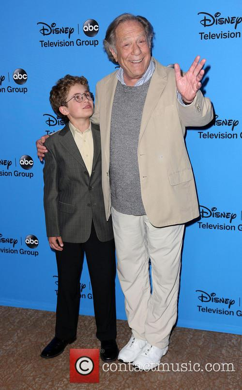Sean Giambrone and George Segal 1