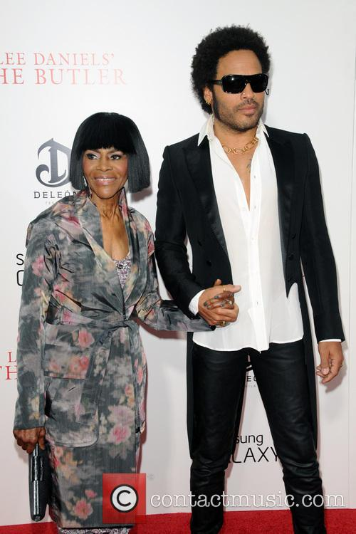 Cicely Tyson and Lenny Kravitz