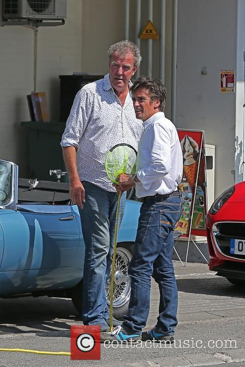 Jeremy Clarkson and Richard Hammond