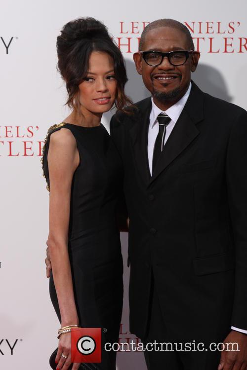 Forest Whitaker and Wife