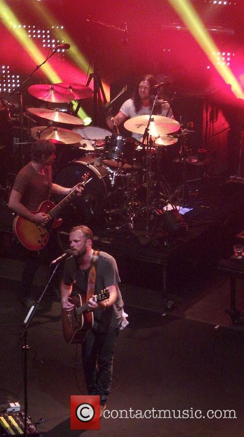 Caleb Followill, Nathan Followill and Matthew Followill 3