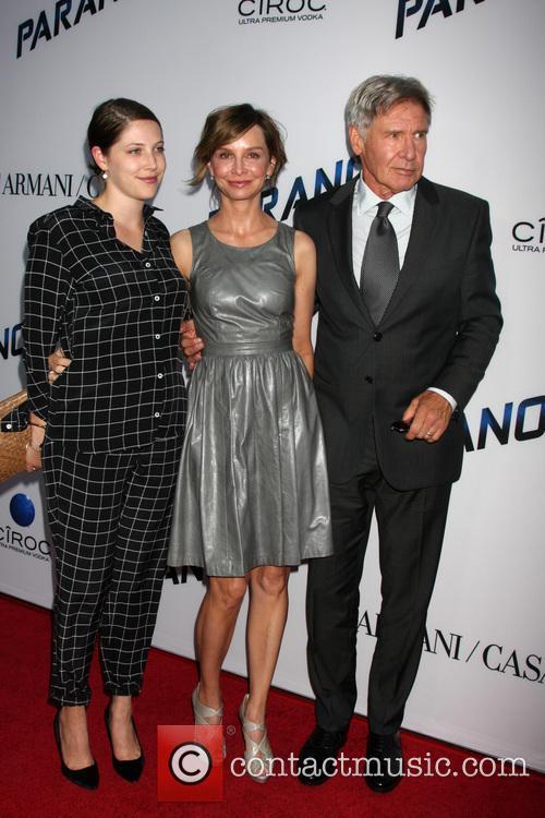 Harrison Ford, Calista Flockhart and Georgia Ford