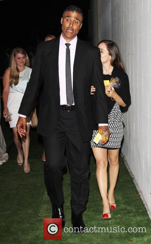 Eliza Dushku and Rick Fox 2