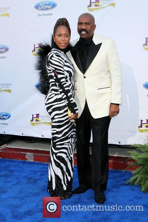 Steve Harvey and Marjorie Harvey