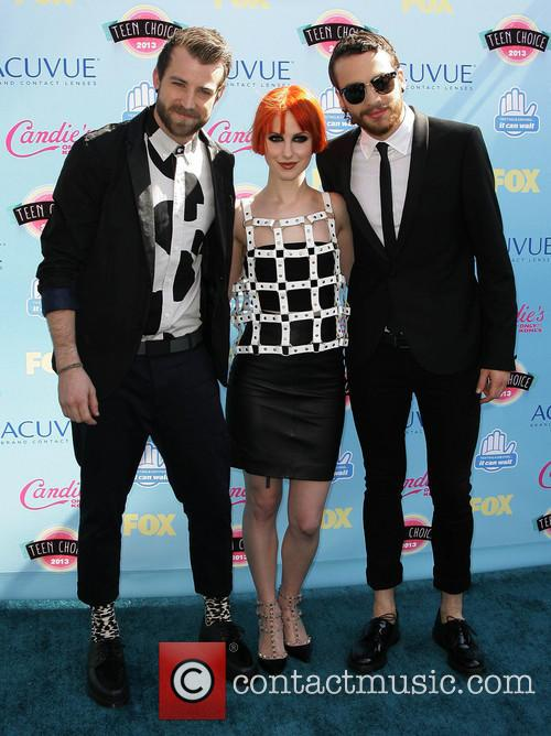 Paramore, Jeremy Davis, Hayley William and Teen Choice Awards