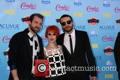 Paramore, Jeremy Davis, Hayley Williams and Taylor York