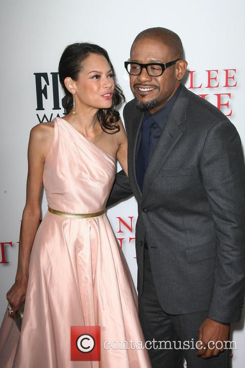 Forest Whitaker and Wife Keisha Whitaker