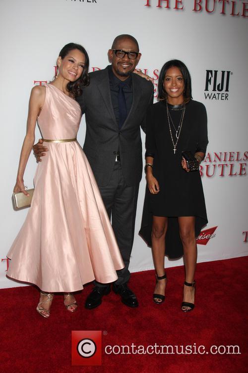Keisha Whitaker, Forest Whitaker and Autumn Whitaker
