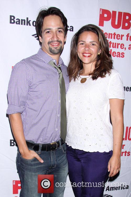 Lin-manuel Miranda and Vanessa Nadal 2