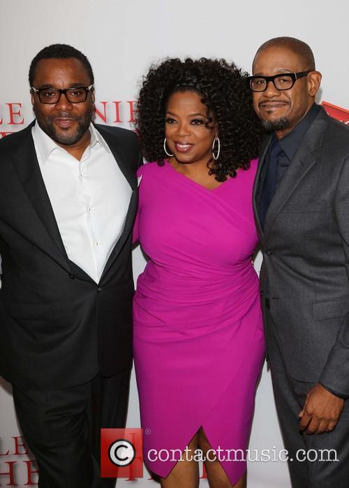 Lee Daniels, Oprah Winfrey and Forest Whitaker