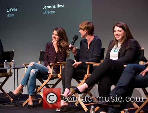 Keri Russell, Jerusha Hess and Stephenie Meyer
