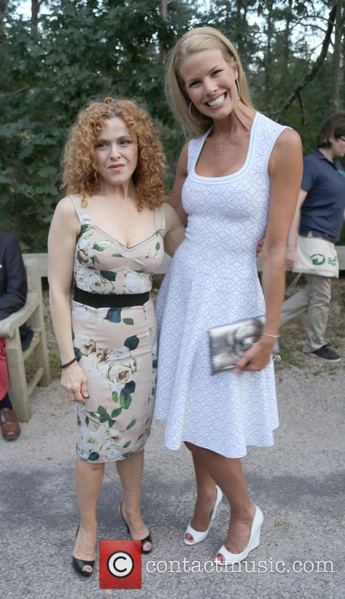 Bernadette Peters and Beth Ostrosky Stern