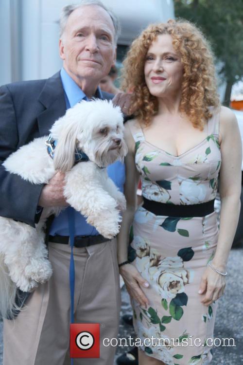 Dick Cavett and Bernadette Peters