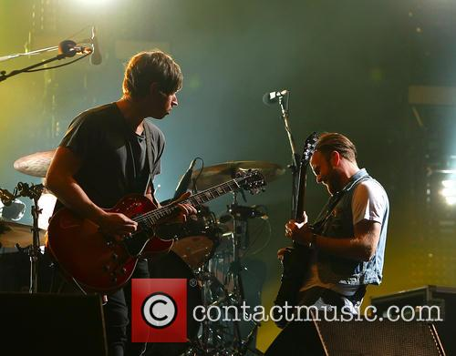 Caleb Followill, Matthew Followill and Kings Of Leon 8