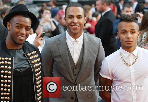 Aston Merrygold, J.b. Gill, Marvin Humes and One Direction 1