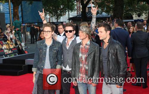 Tom Fletcher, Danny Jones, Dougie Poynter, Harry Judd and Mcfly
