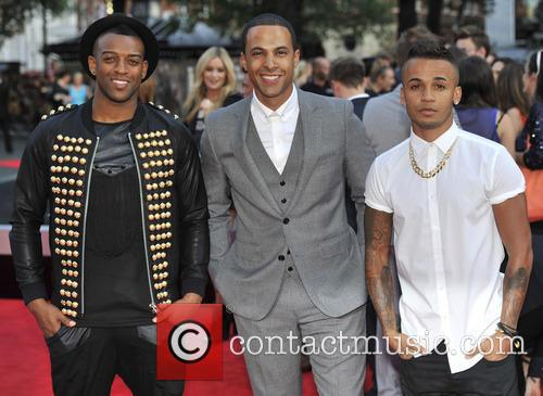 J.b. Gill, Marvin Humes, Aston Merrygold and Jls
