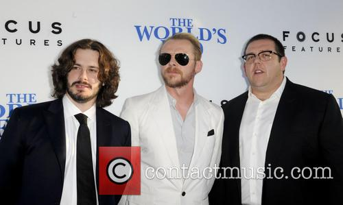 Edgar Wright, Simon Pegg and Nick Frost 4