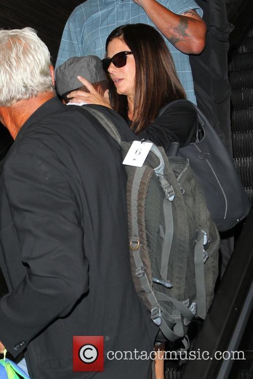 Sandra Bullock and Louis Bullock 7