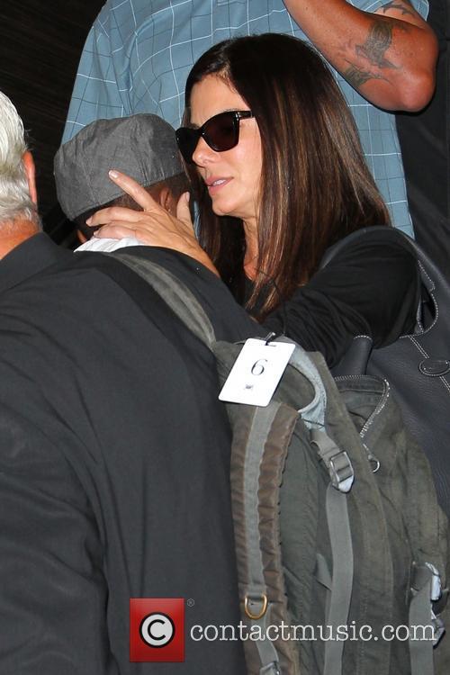 Sandra Bullock and Louis Bullock 8