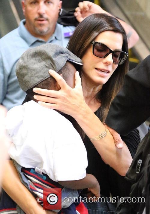 Sandra Bullock and Louis Bullock 5