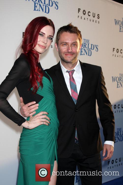 Chris Hardwick and Chloe Dykstra 9