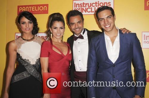 Guest, Alessandra Rosaldo, Eugenio Derbez and Vadhir Derbez
