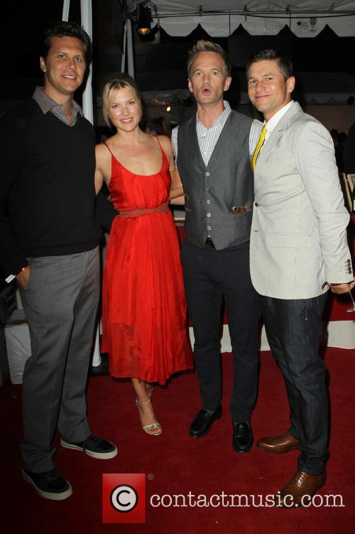 Hayes Macarthur, Ali Larter, Neil Patrick Harris and David Burtka