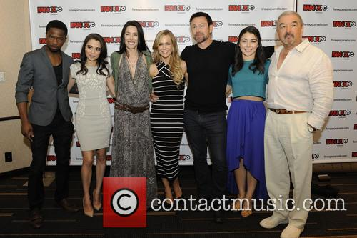 Dewshane Williams, Stephanie Leonidas, Jaime Murray, Julie Benz, Grant Bowler and Graham Greene