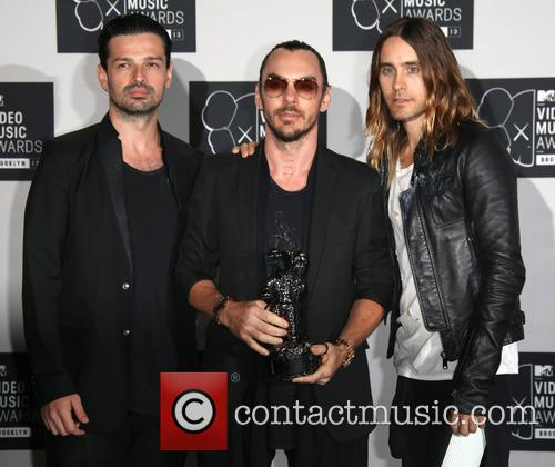 30 Seconds To Mars, Shannon Leto, Jared Leto and Tomo Milicevic