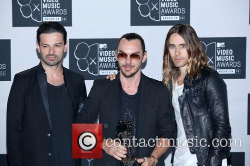 Jared Leto, Tomo Milicevic and Shannon Leto 3
