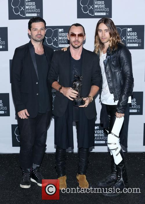 Jared Leto, Tomo Milicevic and Shannon Leto 4