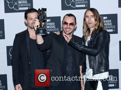 Jared Leto, Tomo Milicevic and Shannon Leto 5