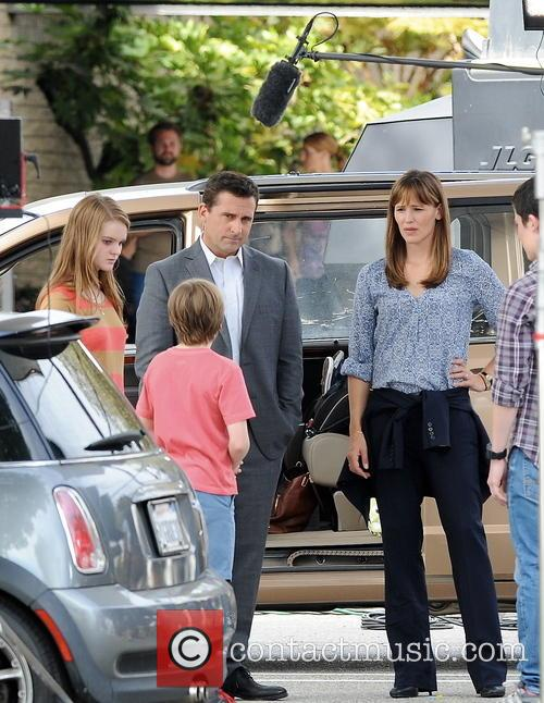 Jennifer Garner, Steve Carell, Kerri Dorsey, Dylan Minnette and Ed Oxenbould